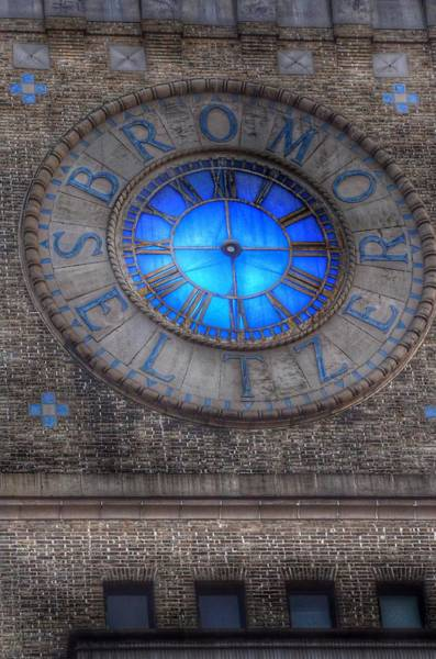 Photograph - Bromo Seltzer Tower Clock Face #5 by Marianna Mills