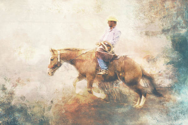 Wall Art - Photograph - Bronc And Rider 1 by Toni Hopper