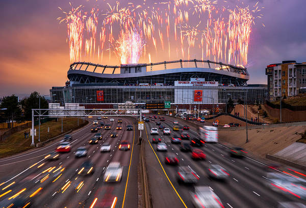 Photograph - Broncos Win Afc Championship Game 2016 by Darren White