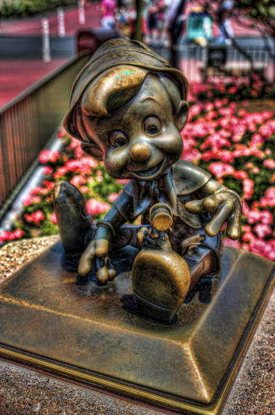 Wdw Photograph - Bronze Boy by Joetta West