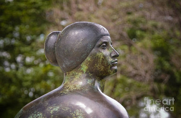 Photograph - Bronze Female Sculpture by Julia Rigler