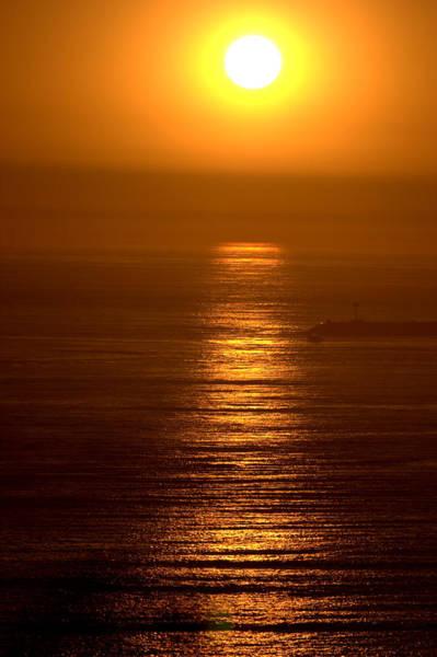 Photograph - Bronze Sun by Brad Scott