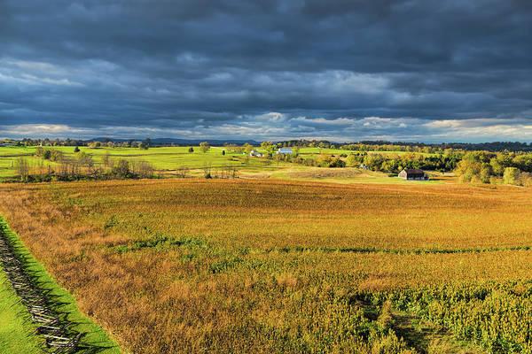Photograph - Brooding Battlefield by John M Bailey