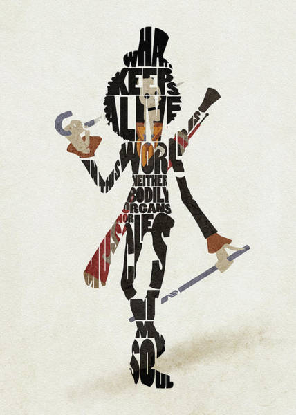 Digital Art - Brook Typography Art by Inspirowl Design