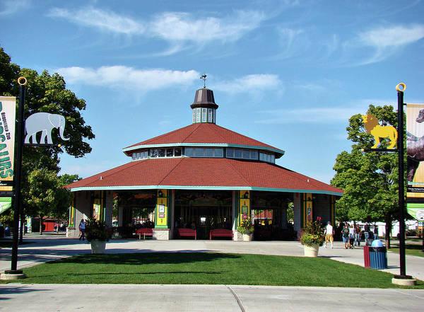 Photograph - Brookfield Zoo Carousel by Sandy Keeton