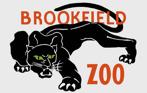 Wall Art - Painting - Brookfield Zoo - Wpa by War Is Hell Store