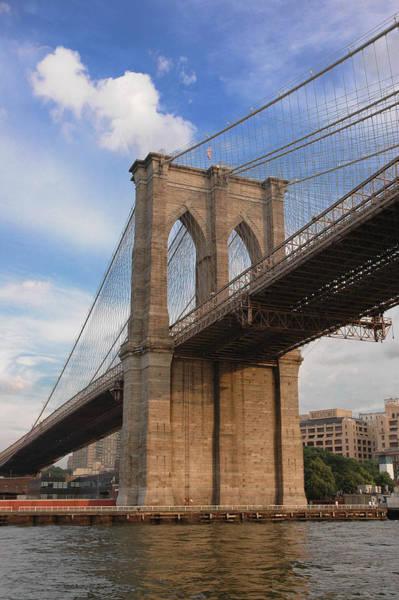 Photograph - Brooklyn Bridge - Eastbound by Frank Mari