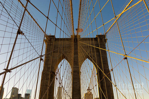 Photograph - Brooklyn Bridge Cage by Alissa Beth Photography