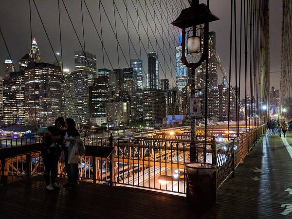 Photograph - Brooklyn Bridge by Christopher Brown
