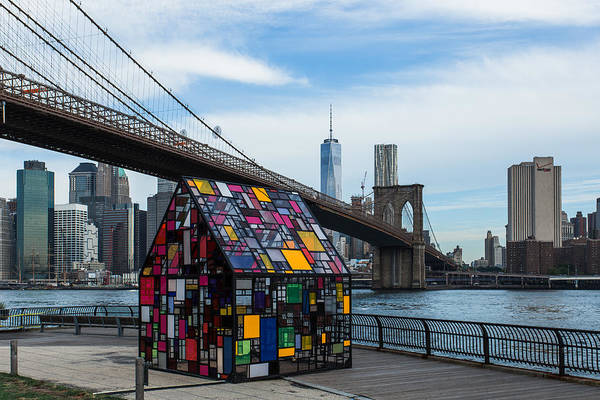 Villandry Photograph - Brooklyn Bridge by Christopher Villandry