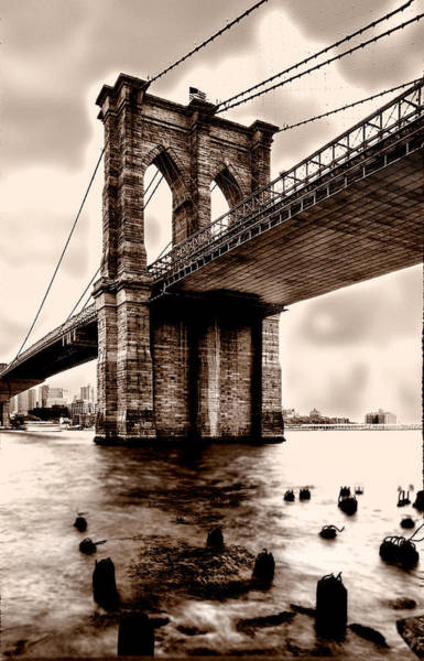 Wall Art - Photograph - Brooklyn Bridge by Greg Waters