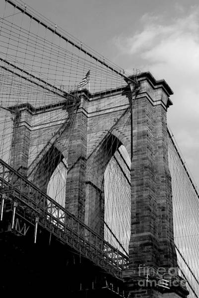 Wall Art - Photograph - Brooklyn Bridge by Hanni Stoklosa