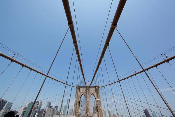 Photograph - Brooklyn Bridge by John Magyar Photography