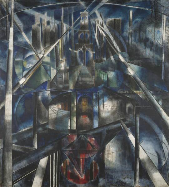 Painting - Brooklyn Bridge by Joseph Stella