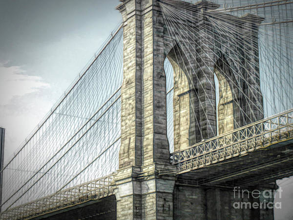 Wall Art - Photograph - Brooklyn Bridge by Luther Fine Art