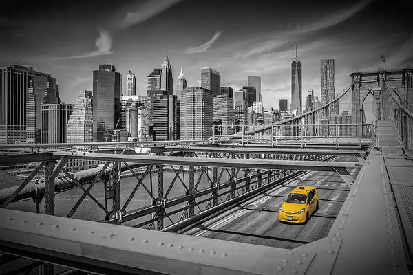 Wall Art - Photograph - Brooklyn Bridge Manhattan View by Melanie Viola