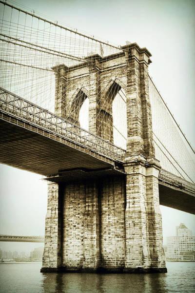 Photograph - Brooklyn Bridge Memoir by Jessica Jenney