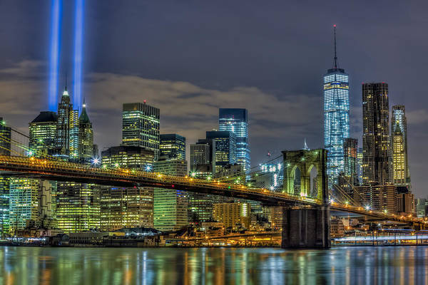 - Brooklyn Bridge Nyc 911 Tribute by Susan Candelario