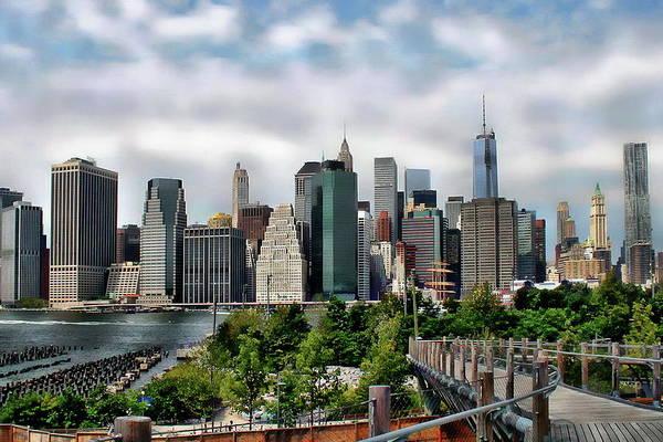 Photograph - Brooklyn Bridge Park by Anthony Dezenzio