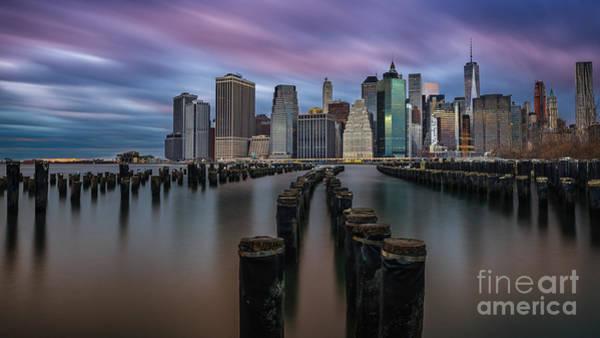 Wall Art - Photograph - Brooklyn Bridge Park Le Wide Crop by Michael Ver Sprill