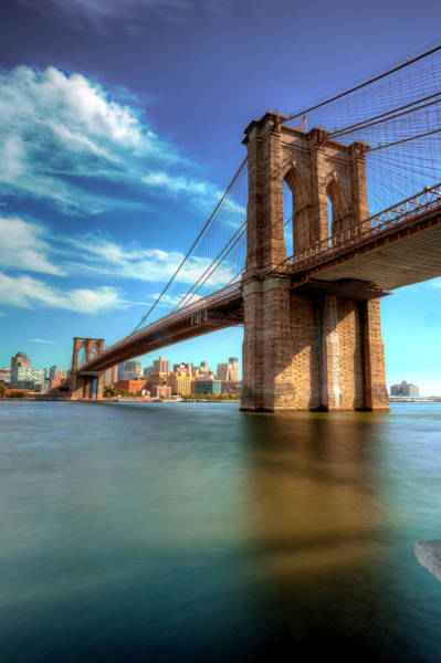 Photograph - Brooklyn Bridge  by Paul Watkins
