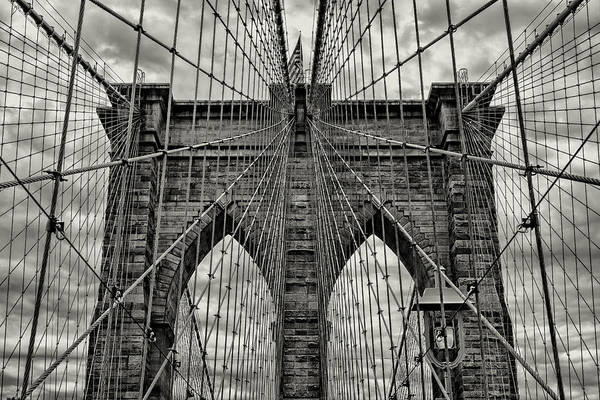 Wall Art - Photograph - Brooklyn Bridge by Stephen Stookey