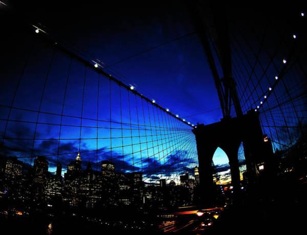 Brooklyn Bridge Photograph - Brooklyn Colours by Fulvio Pellegrini