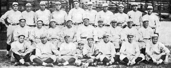 Photograph - Brooklyn Dodger Champions by Underwood & Underwood