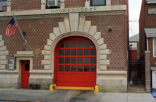 Photograph - Brooklyn Firehouse 2001 by Frank Romeo