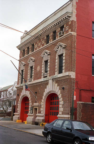 Photograph - Brooklyn Firehouse Building 2001 by Frank Romeo