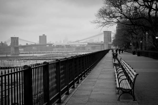 Promenade Photograph - Brooklyn Heights Promenade by Ezequiel Rodriguez Baudo