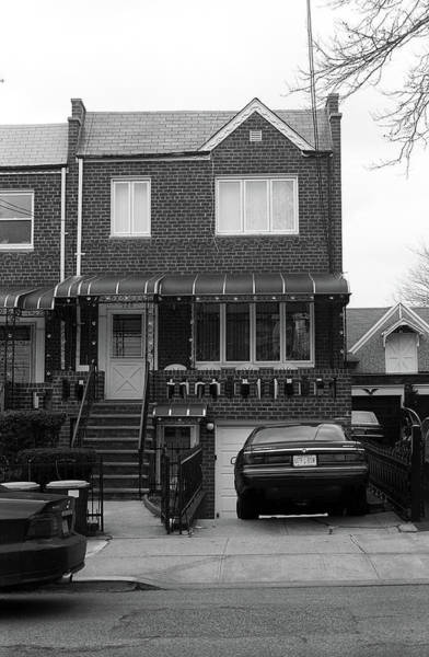 Photograph - Brooklyn House 2001 #5 Bw by Frank Romeo