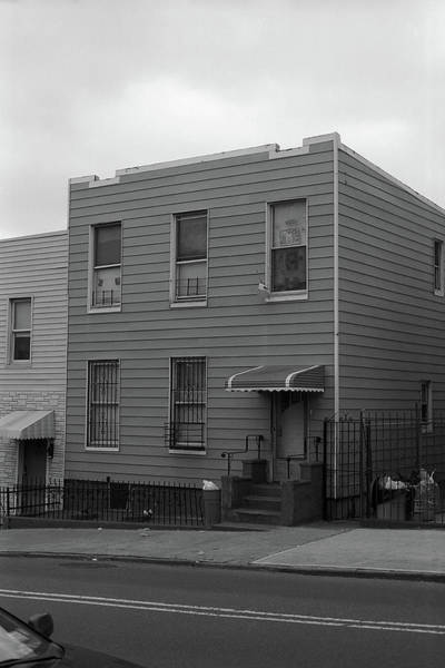 Photograph - Brooklyn House 2001 Bw #1 by Frank Romeo