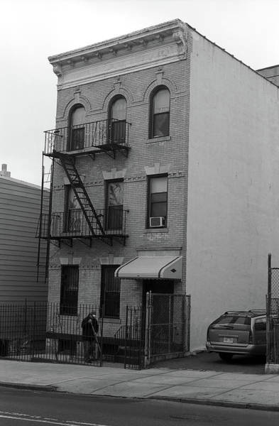 Photograph - Brooklyn House 2001 Bw #2 by Frank Romeo