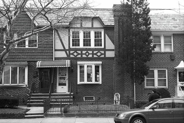 Photograph - Brooklyn House 2001 Bw #4 by Frank Romeo