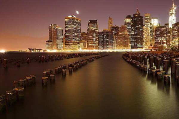 Skyline Digital Art - Brooklyn by Maye Loeser