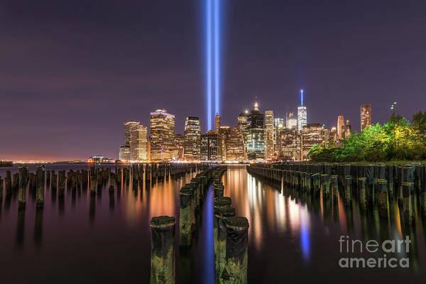 September 11 Attacks Photograph - Brooklyn Sticks September 11th Memorial  by Michael Ver Sprill