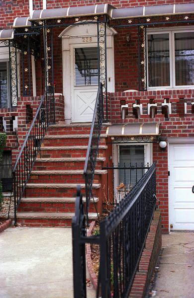 Photograph - Brooklyn Stoop 2001 #3 by Frank Romeo