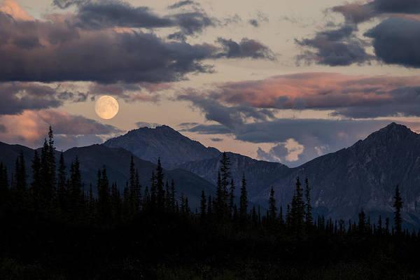 Photograph - Brooks Range Super Moon by Ian Johnson