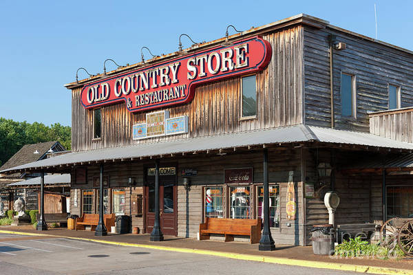 Photograph - Brooks Shaw's Old Country Store IIi by Clarence Holmes