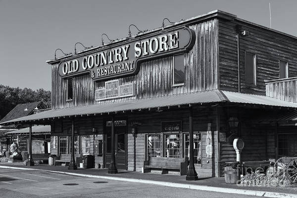 Photograph - Brooks Shaw's Old Country Store Iv by Clarence Holmes