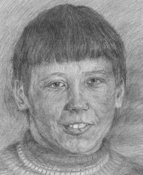 Drawing - Brother 3 by Sami Tiainen