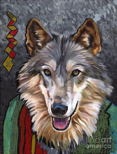 Brother Wolf Art Print