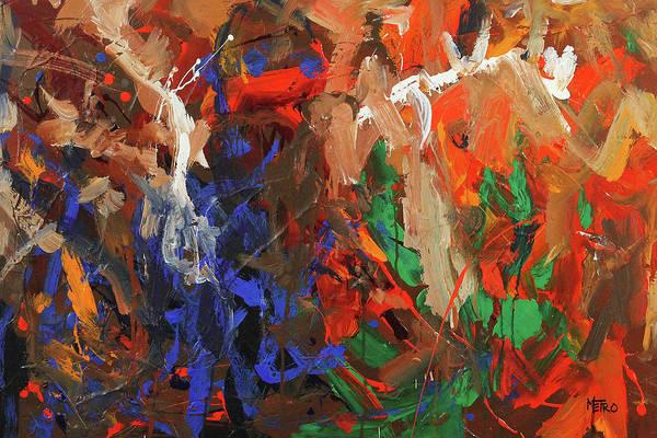 Wall Art - Painting - Brothers In Charm by Ron Krajewski