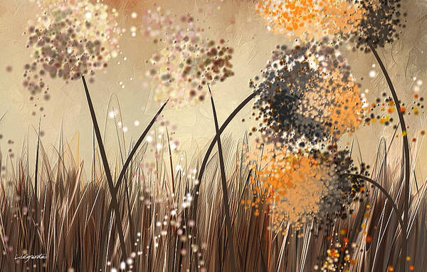 Painting - Brown And Gray Abstract by Lourry Legarde