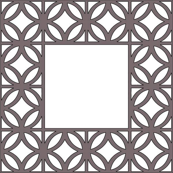 Digital Art - Brown Circles And Squares by Chuck Staley