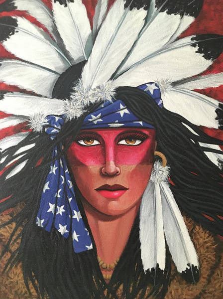 Painting - Brown Eyes by Lance Headlee