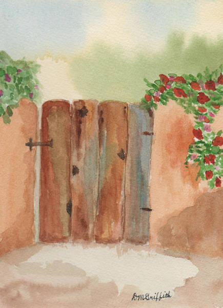 Painting - Brown Gate by Dorothy Karle Griffith