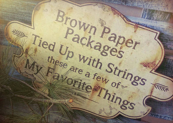 Photograph - Brown Paper by Jamart Photography