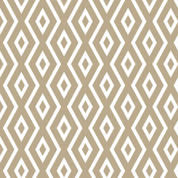 Mixed Media - Beige Pattern by Christina Rollo